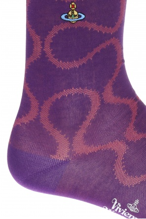 Long patterned socks od Vivienne Westwood