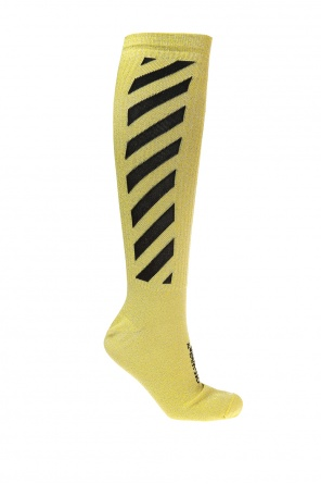 Long patterned socks od Off White
