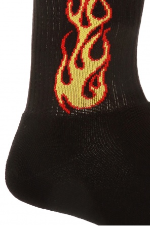 Embroidered socks od Palm Angels