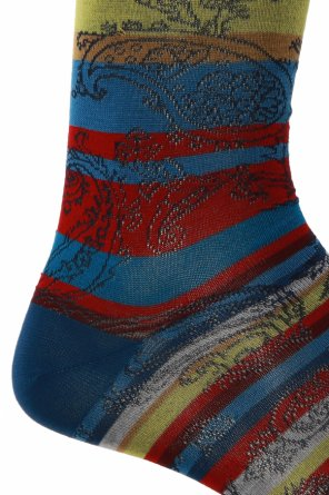 Long patterned socks od Etro