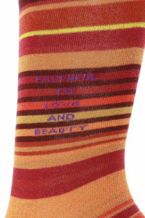 Embroidered socks od Etro