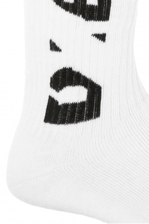 Branded knee socks od Diesel