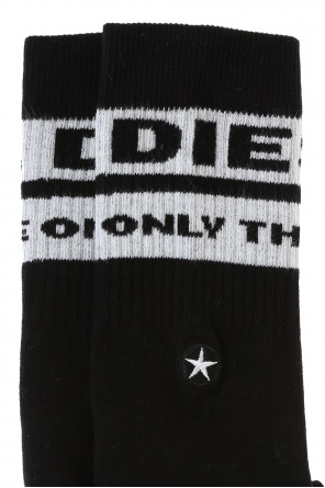 Embroidered socks od Diesel