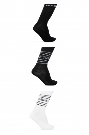 Branded socks three-pack od Diesel