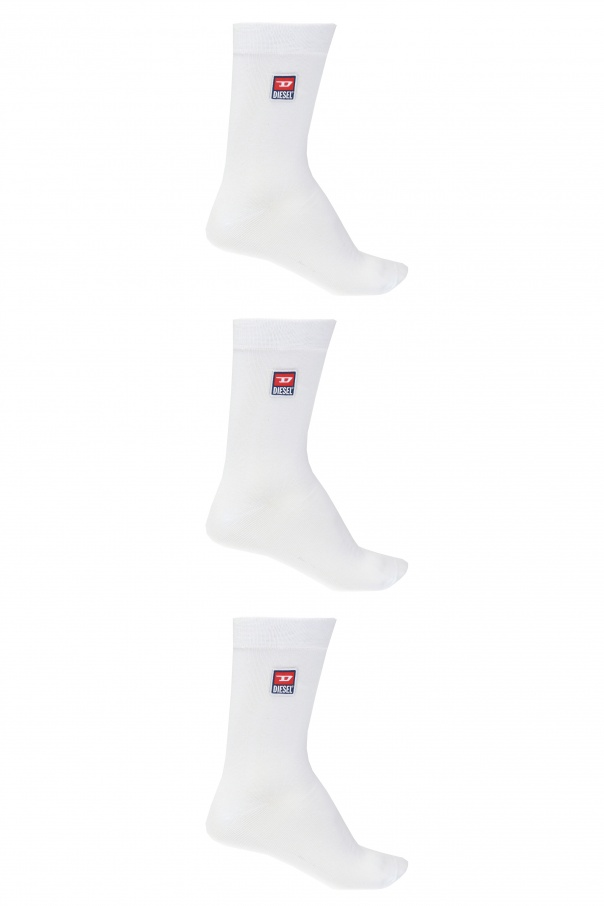 Diesel Branded socks 3-pack