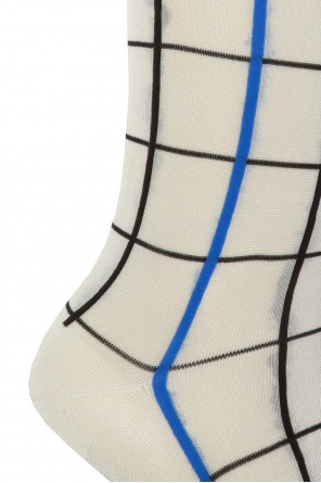 Patterned socks with logo od Marni