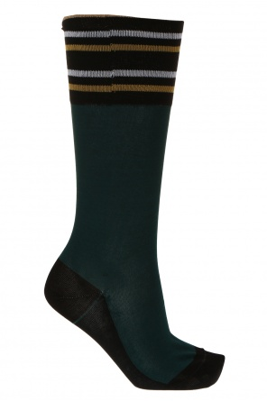 Lurex thread socks od Marni