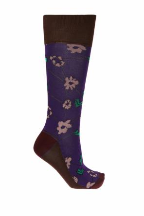 Socks with floral motif od Marni