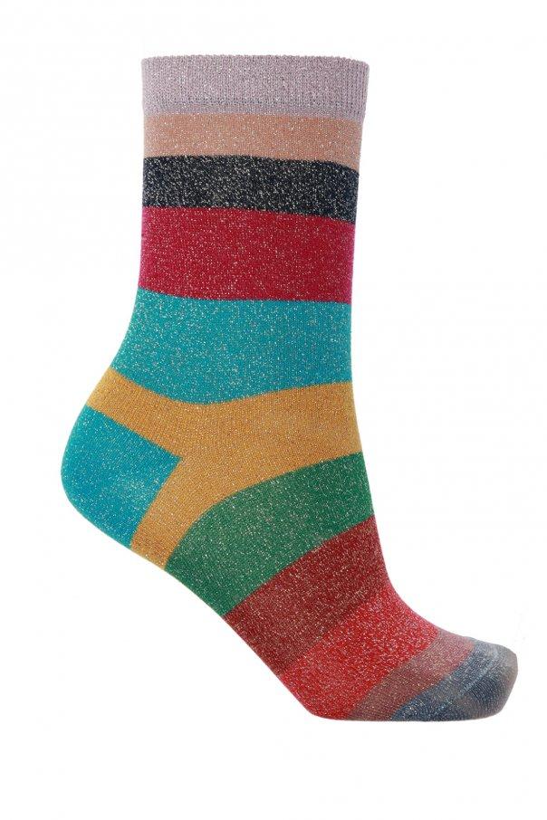 Paul Smith Socks with metallic yarn