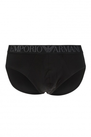 Briefs with embroidered logo od Emporio Armani
