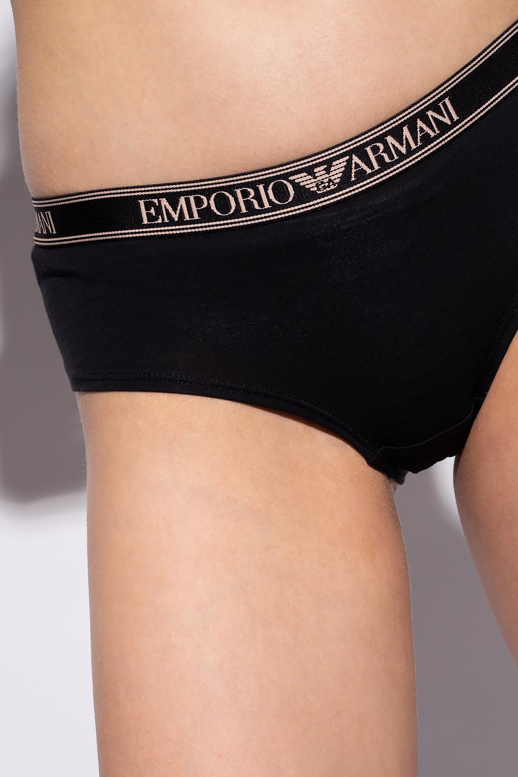 Emporio Armani Briefs with logo