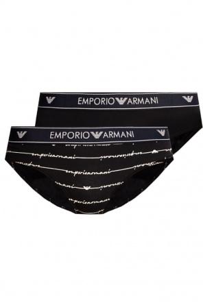 Branded briefs two-pack od Emporio Armani