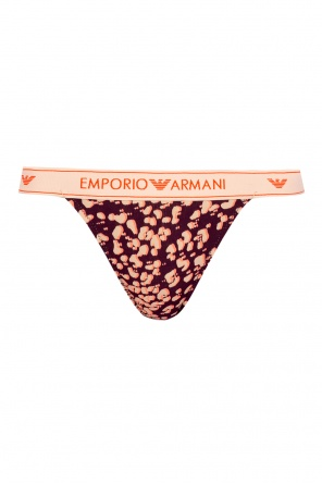 Thong with logo od Emporio Armani