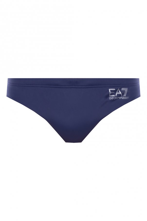 EA7 Emporio Armani Swim shorts with logo