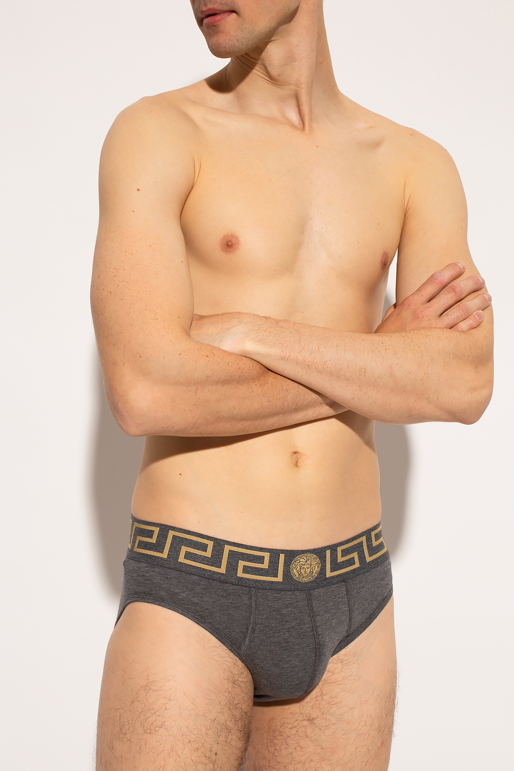 Versace Briefs two-pack with Medusa