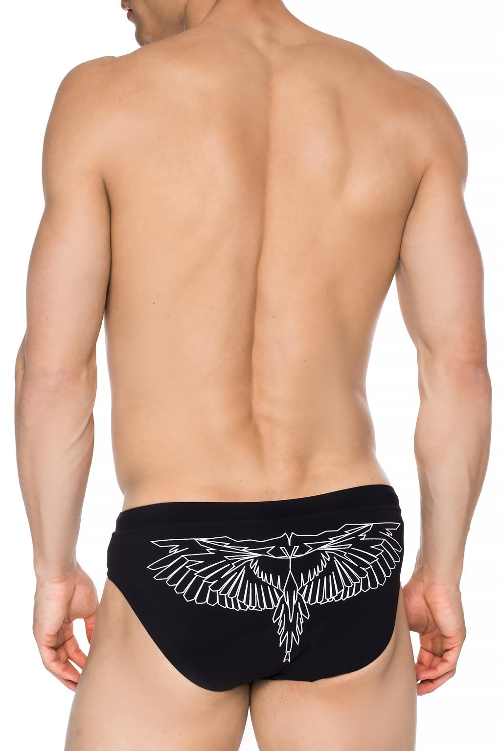 Marcelo Burlon Printed swimming trunks