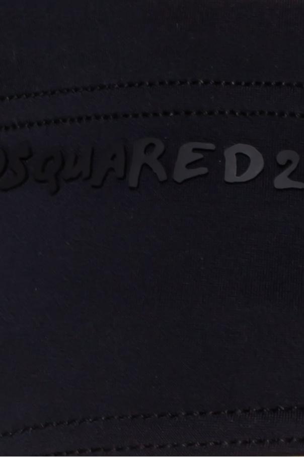 Logo swimming trunks od Dsquared2