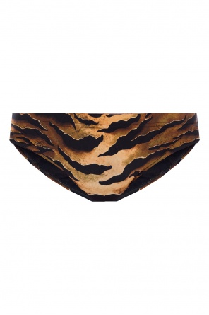 Patterned swim shorts with logo od Dsquared2