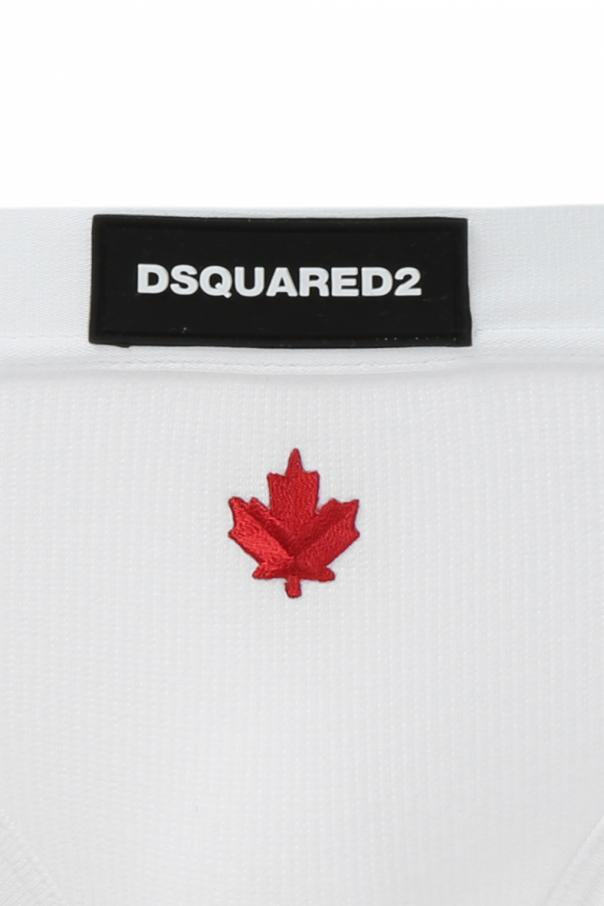 Logo-embroidered briefs od Dsquared2