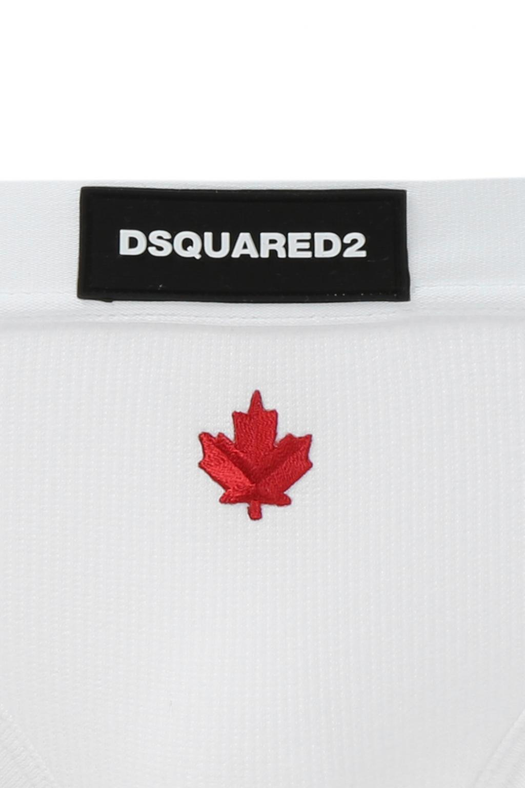 Dsquared2 Logo-embroidered briefs