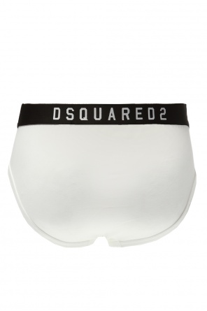 Briefs with embroidered lettering od Dsquared2