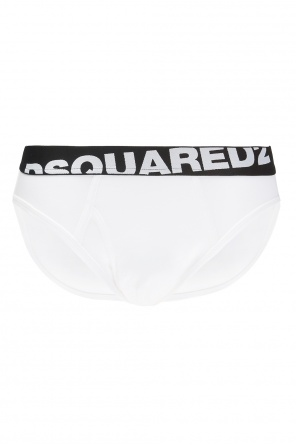 Briefs with a logo od Dsquared2