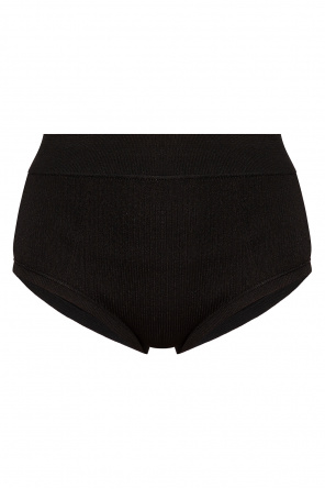 High-waisted ribbed briefs od JIL SANDER