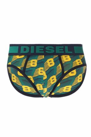 Logo-embroidered briefs od Diesel