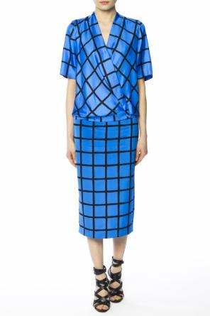 Checked skirt od Diane Von Furstenberg