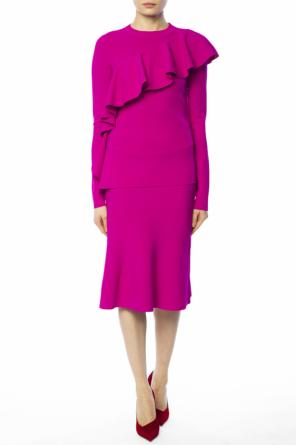 Pencil skirt with ruffle od Diane Von Furstenberg