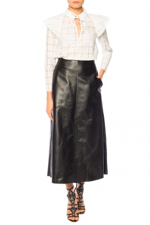 Leather skirt od Sonia Rykiel