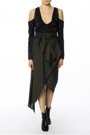 Lace-up asymmetrical skirt od Vivienne Westwood