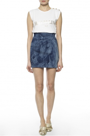 Denim skirt od Balmain