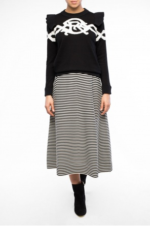 Striped flared dress od Sonia Rykiel