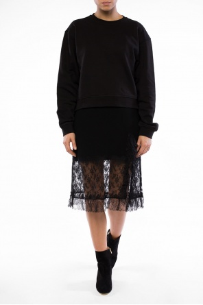 Lace-trimmed skirt od Sonia Rykiel