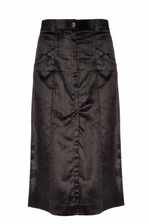 Vented ribbed skirt od Nina Ricci