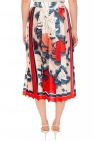 Victoria Victoria Beckham Pleated skirt with print