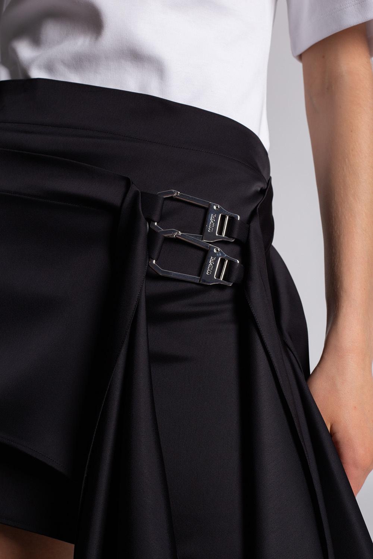 The Attico Asymmetrical skirt