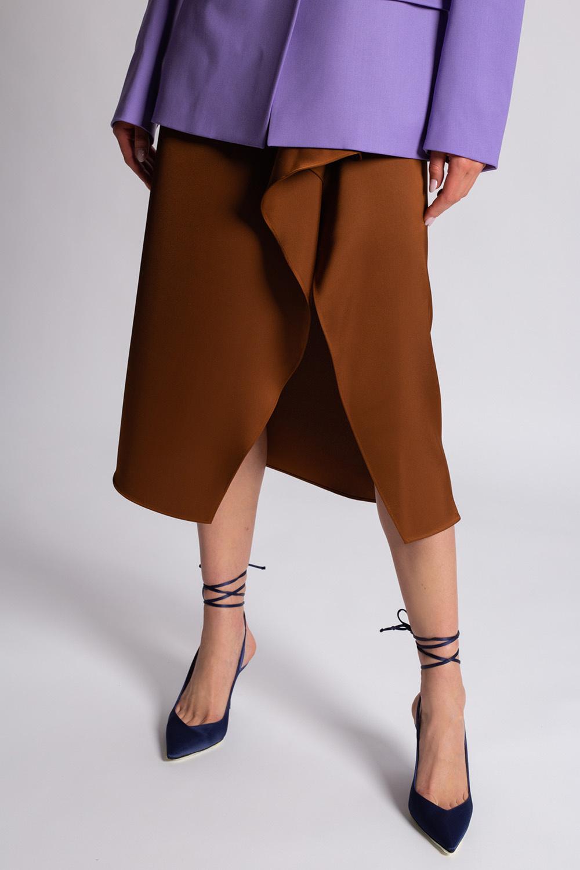 The Attico Ruffled skirt