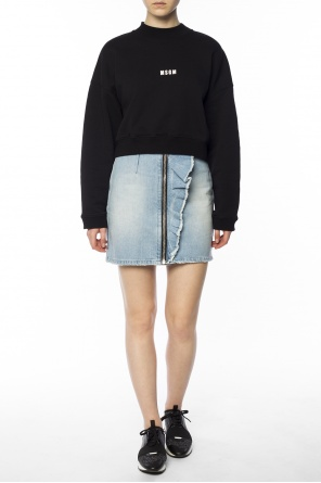 Short denim skirt od MSGM
