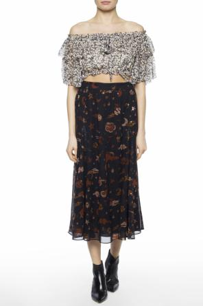 Patterned skirt od Coach