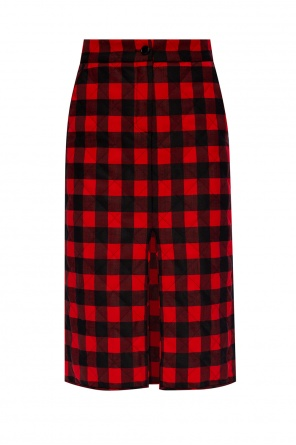 Checked skirt od MSGM