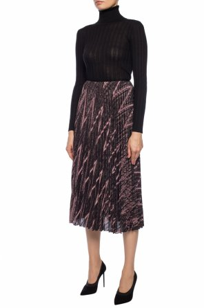 Patterned pleated skirt od M Missoni