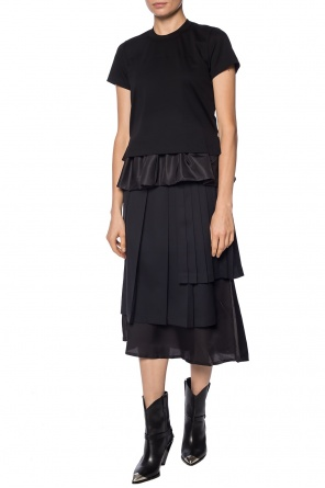 Cut-out pleated skirt od Comme des Garcons Ninomiya