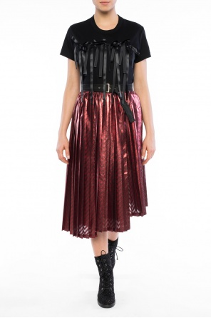 Patterned pleated skirt od Comme des Garcons Ninomiya