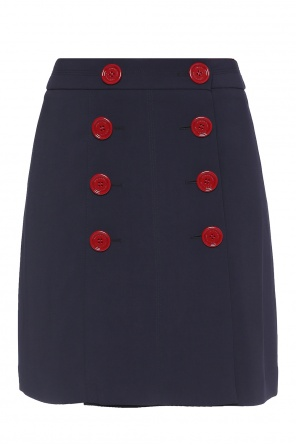 Double-breasted skirt od Burberry