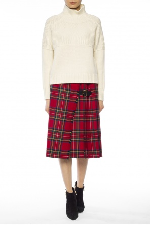 Checked pleated skirt od Burberry
