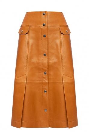 Leather skirt od Coach