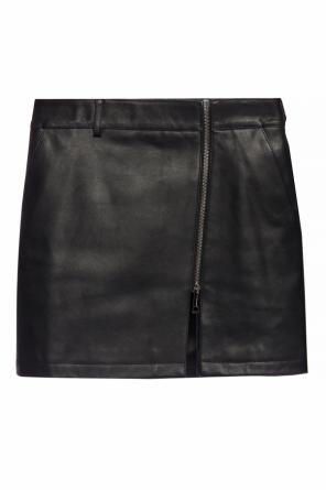 Leather skirt od Burberry
