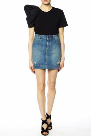 Denim skirt with holes od Stella McCartney